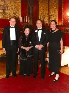 cena di gala con Presidente yamada