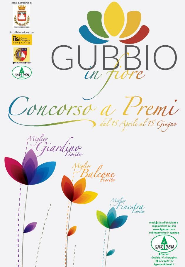 Gubbio in fiore 2016