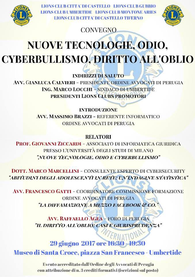 Convegno INTERCLUB