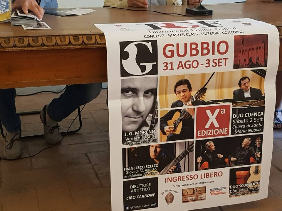 Programma della X edizione di IGF -International Guitar Festival