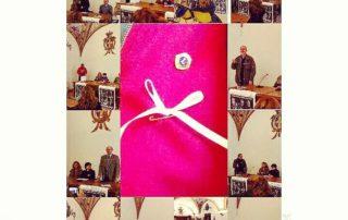 25 Novembre 2017: Sala degli Stemmi Presentazione della Campagna del Fiocco Bianco. Il Lions Club Gubbio ha aderito insieme all'Asl 1, sezioni soci coop e ad altre associazioni alla campagna del fiocco bianco avente ad oggetto la lotta contro il femminicidio. Ringraziamo la Commissione Pari Opportunità per averci coinvolto nell'ottica di una fattiva ed attiva collaborazione.