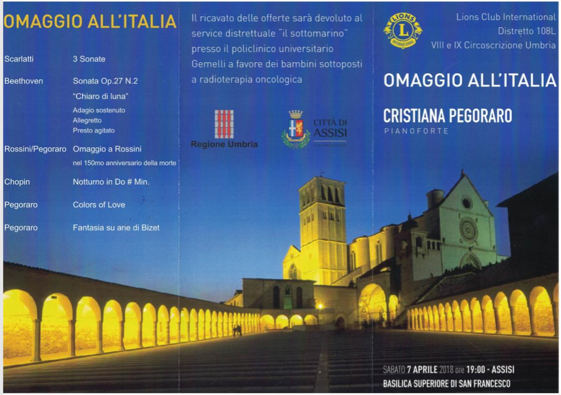 Concerto di Cristiana Pegoraro