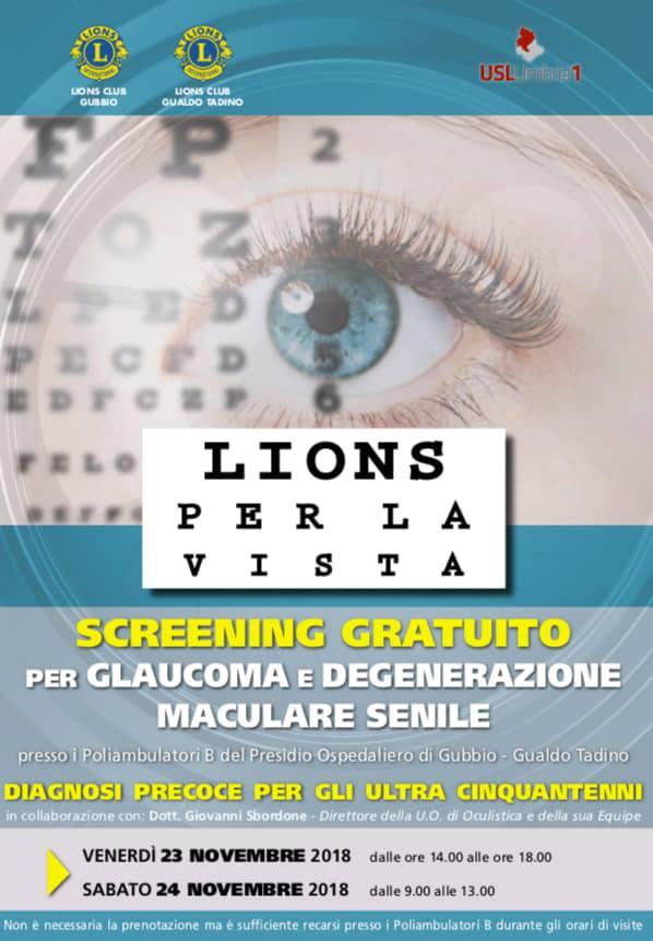 Screening glaucoma