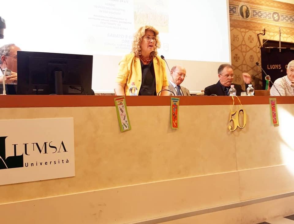 Rita Cecchetti, Vice Sindaco, socia Lions