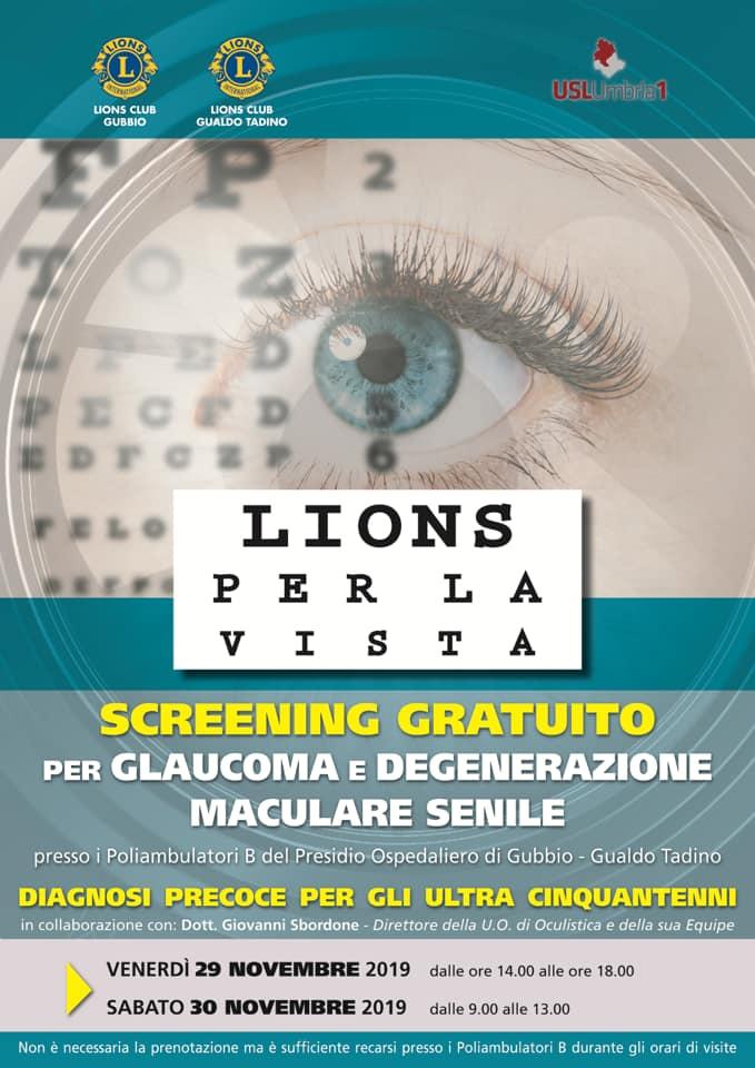 glaucoma e degenerazione maculare senile
