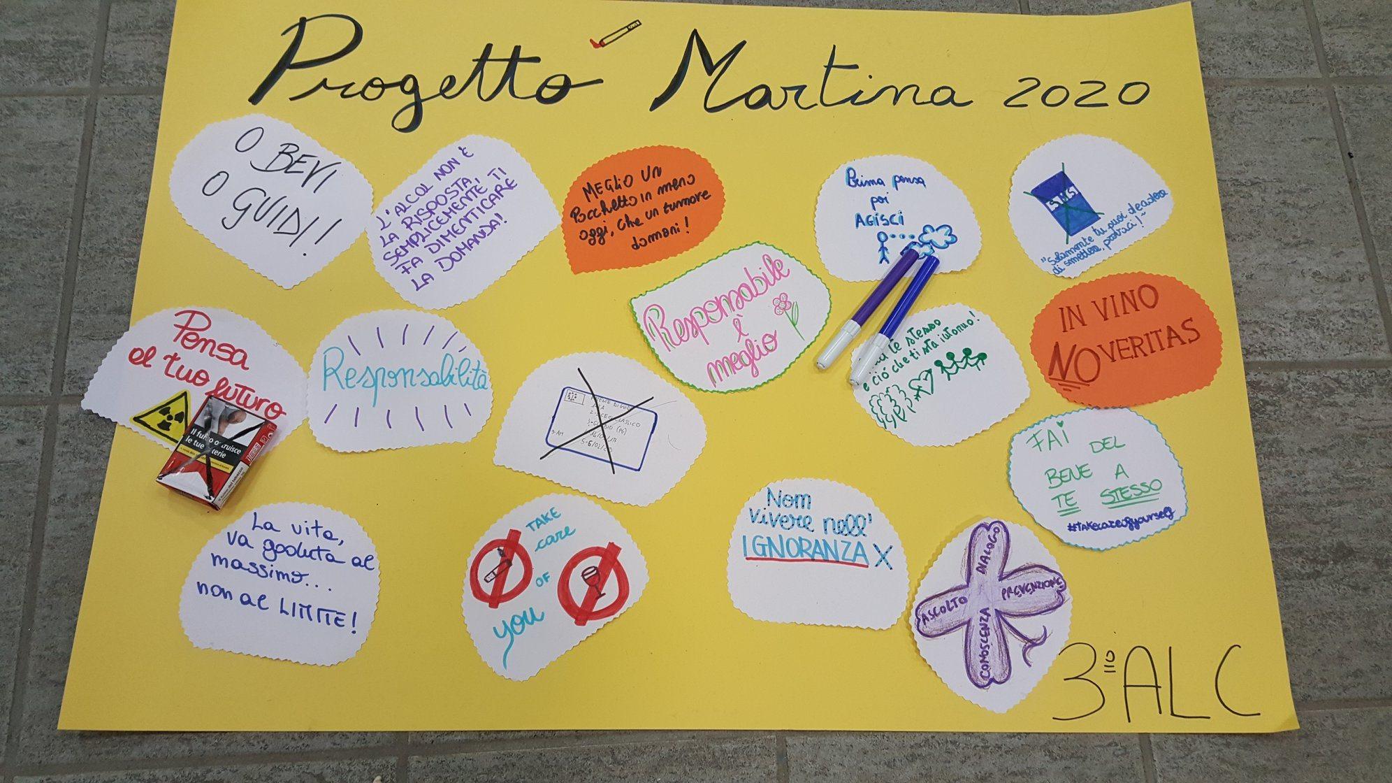 Progetto MARTINA 2019-2020