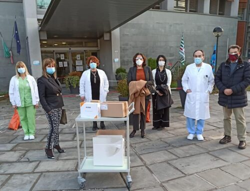 Donazione al reparto pediatrico dell'Ospedale
