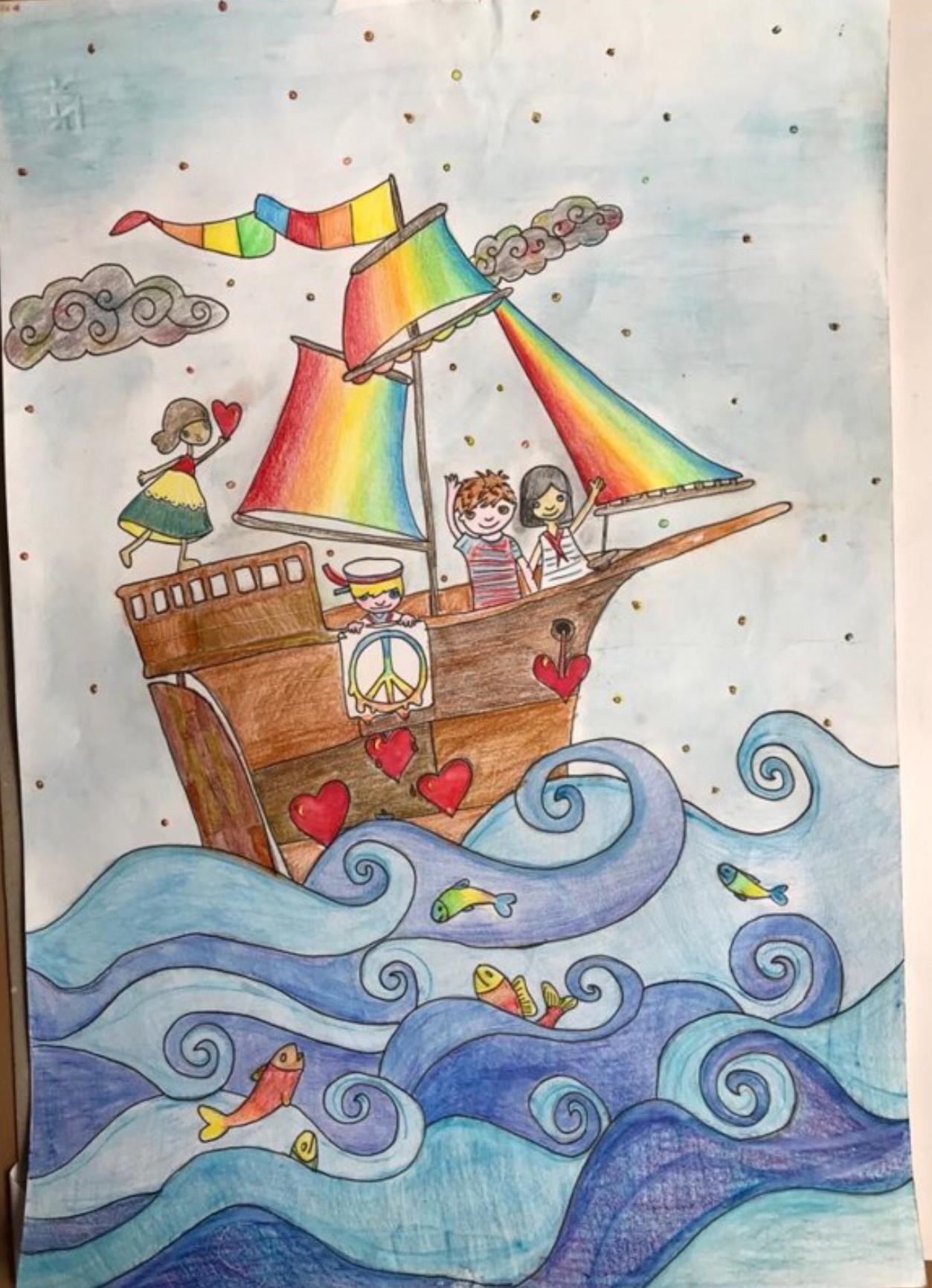 disegno realizzato da Lupita Passacantilli
