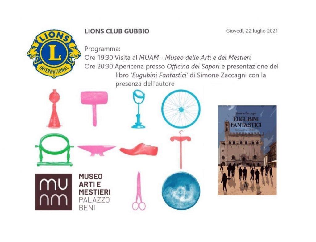 Incontro dedicato alla cultura e apericena MUAM - Museo delle Arti e dei Mestieri Eugubini Fantastici