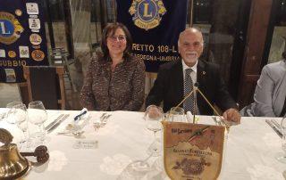 Visita del Governatore del Distretto 108L Silverio Forteleoni